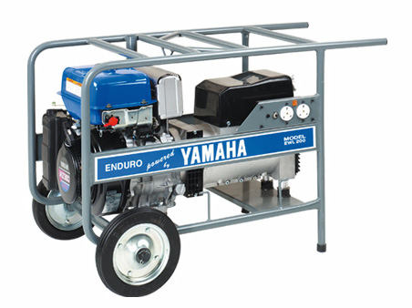 Yamaha ews200 petrol welder generator for sale for Yamaha generator for sale