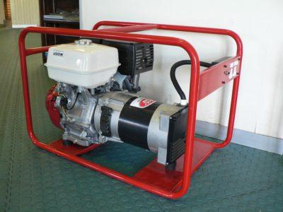 6kVA Petrol Generator - Honda Red Ant