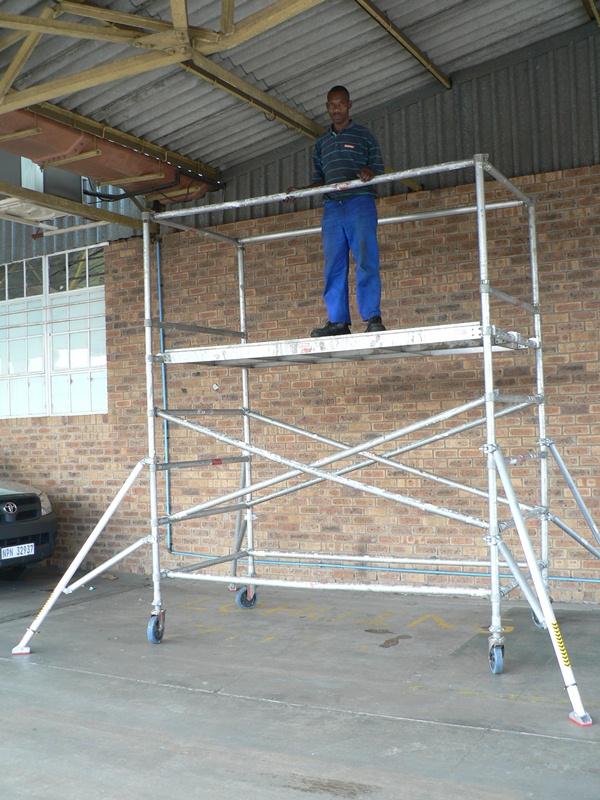 aluminium scaffolding hire