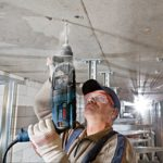 Bosch GBH 2-24 D Rotary Hammer action