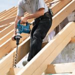 Bosch GBH 4-32 DFR Rotary Hammer action