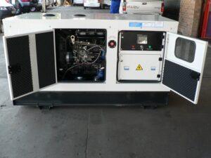 Tool Time 25kVA, 3 Phase Diesel generator