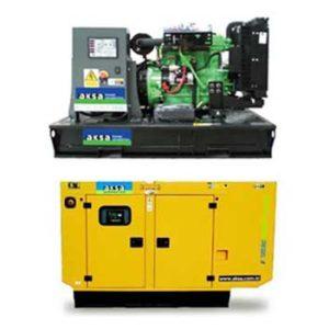 Aksa Generators from Hire It