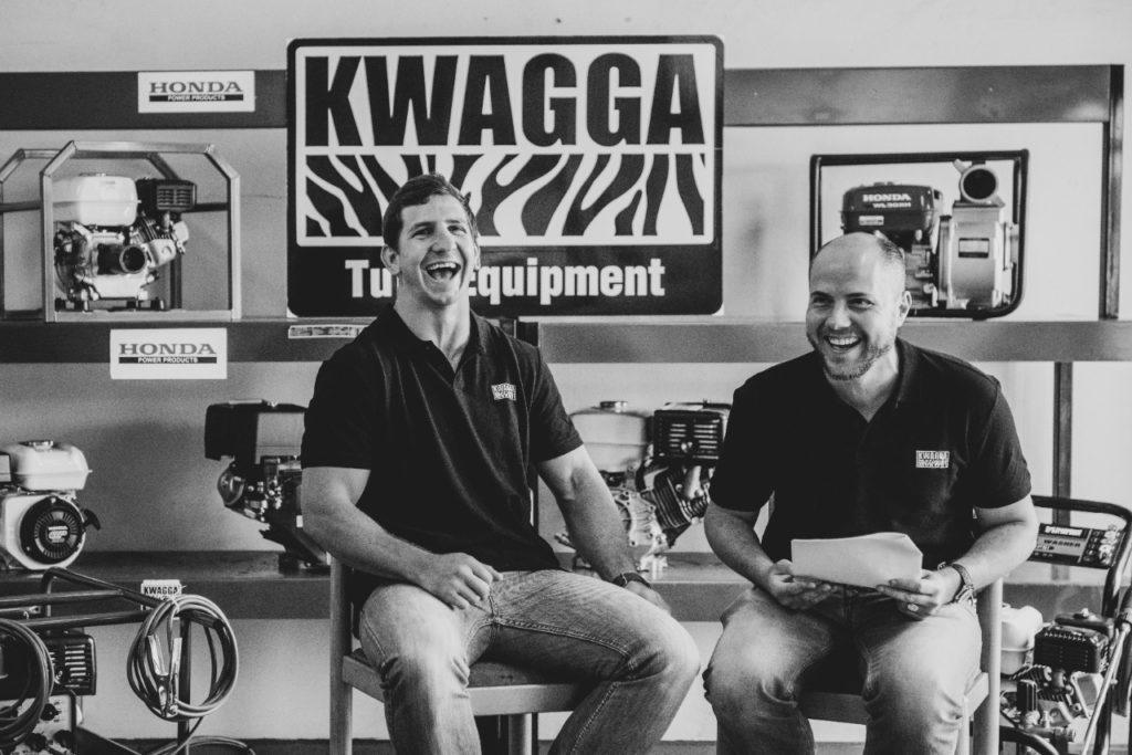Kwagga Equipment endorsed by Kwagga Smith