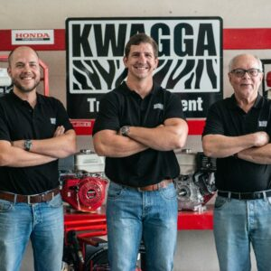 Richard Fraser, Kwagga Smith, & Doug Fraser