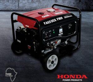 HONDA FA6500X generator