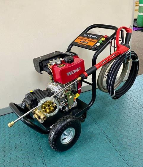 180D KWAGGA Diesel High Pressure Cleaner