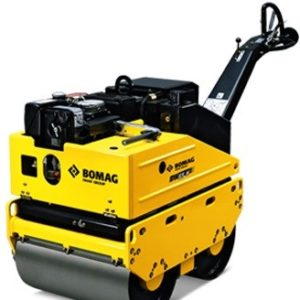 Bomag Roller from hire it